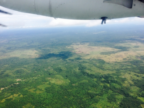 Flying Goma to Kindu